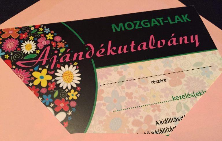 Mozgatlak.hu - gyógytorna ajándékutalvány